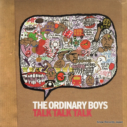 ORDINARY BOYS, THE talk talk talk (radio edit) WEA377 - front cover