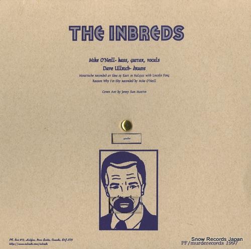 INBREDS, THE moustache MUR-029 - back cover