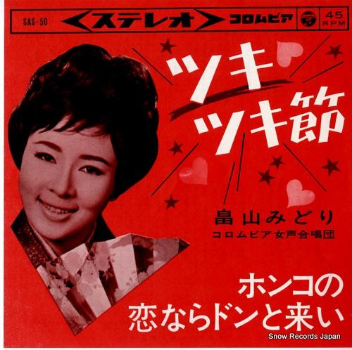 HATAKEYAMA, MIDORI tsukitsuki bushi SAS-50 - front cover