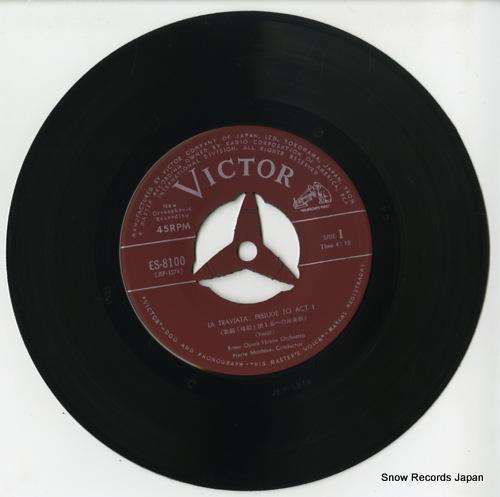 MONTEUX, PIERRE verdi; la traviata ES-8100 - disc