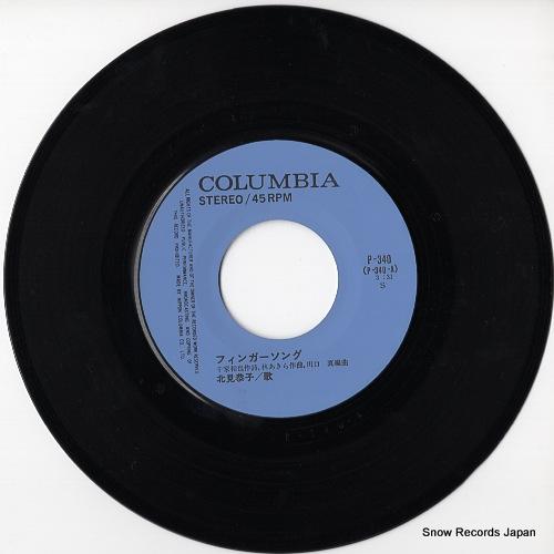 KITAMI, KYOKO finger song P-340 - disc