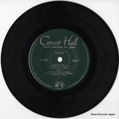NEEL, BOYD mozart; eine kleine nachtmusik M-966 - disc