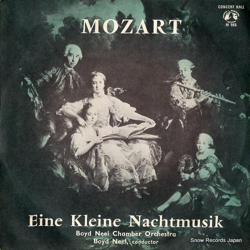 NEEL, BOYD mozart; eine kleine nachtmusik M-966 - front cover