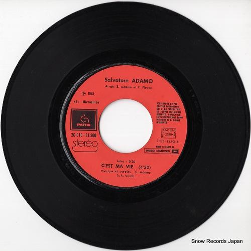 ADAMO c'est ma vie SC010-81.900 - disc