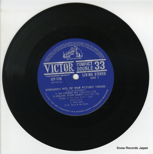 V/A evergreen hits of war pictures themes SCP-1128 - disc