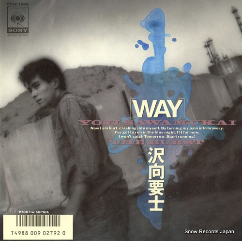 SAWAMUKAI, YOJI way 07SH1969 - front cover