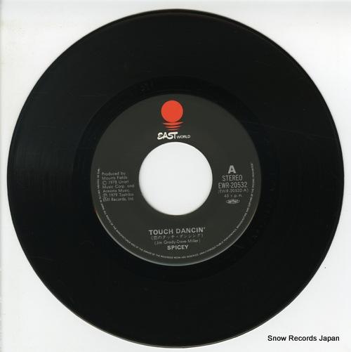 SPICEY touch dancin' EWR-20532 - disc
