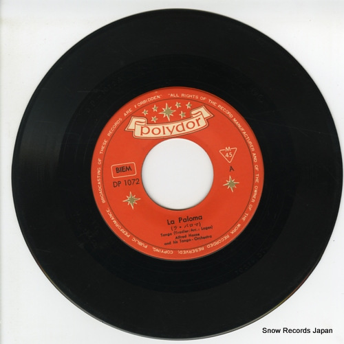 HAUSE, ALFRED la paloma DP-1072 - disc