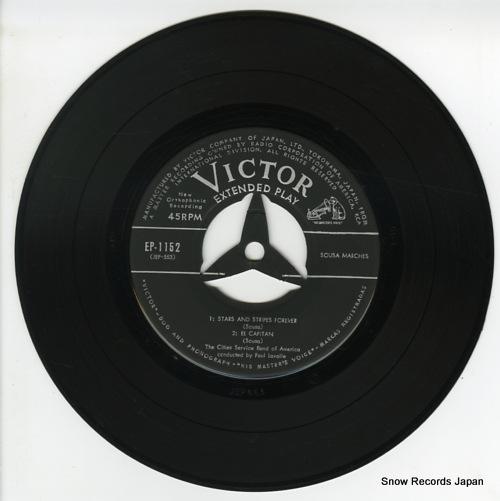 LAVALLE, PAUL sousa marches EP-1152 - disc