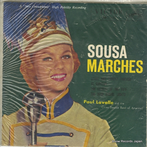 LAVALLE, PAUL sousa marches EP-1152 - front cover