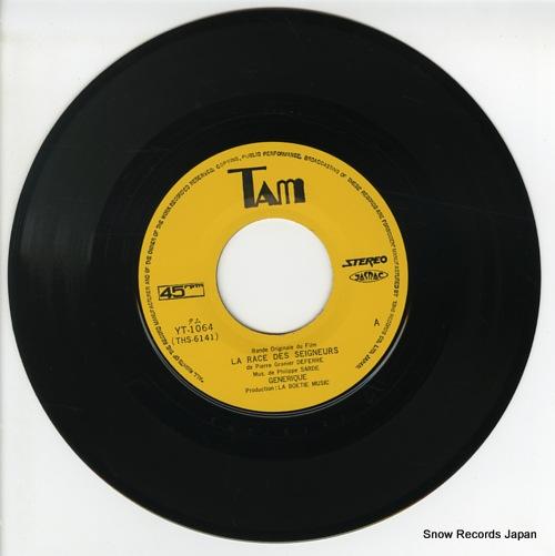 SARDE, PHILIPPE la race des seigneurs YT-1064 - disc