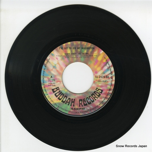 GLADYS KNIGHT AND THE PIPS i've got to use my imagination LL-2626-DA - disc