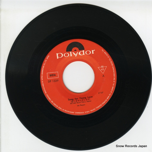 LES PLAYERS song for youn love DP-1339 - disc