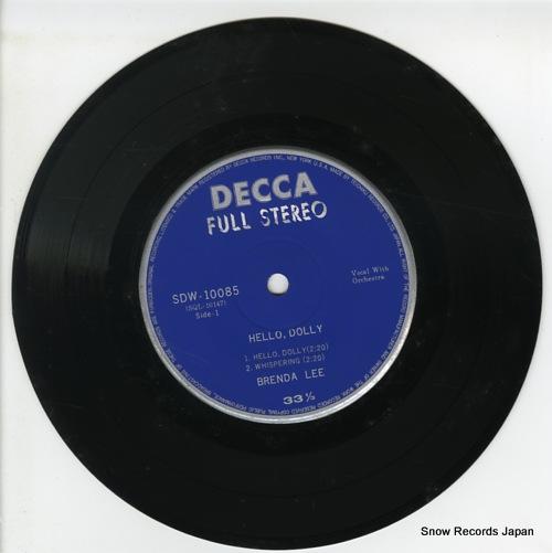 LEE, BRENDA hello dolly SDW-10085 - disc