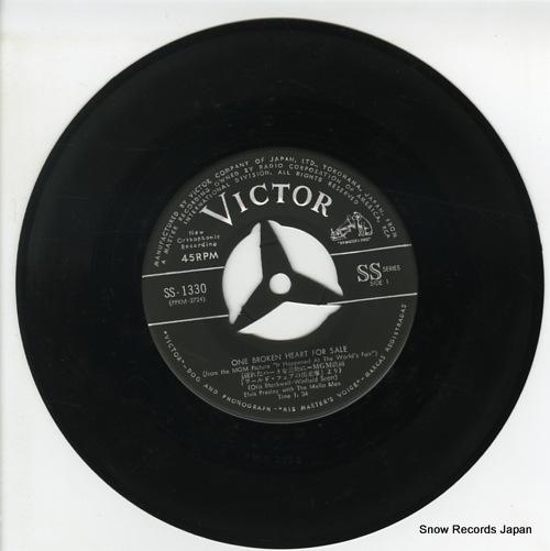 PRESLEY, ELVIS one broken heart for sale SS-1330 - disc