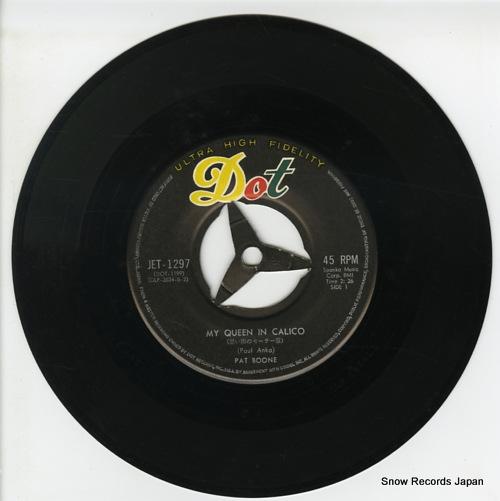 BOONE, PAT my queen in calico JET-1297 - disc