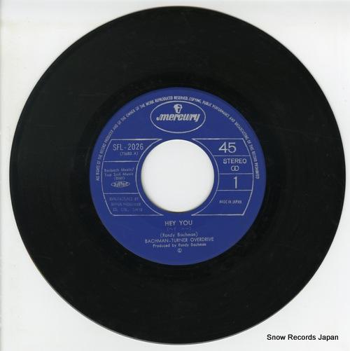 BACHMAN-TURNER OVERDRIVE hey you SFL-2026 - disc