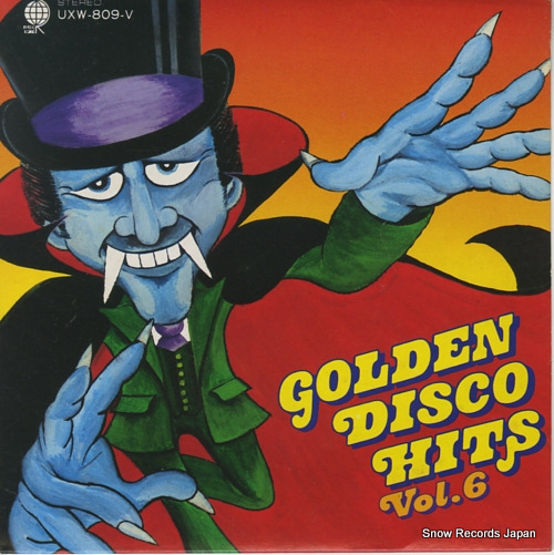 V/A golden disco hits vol.6 UXW-809-V - front cover