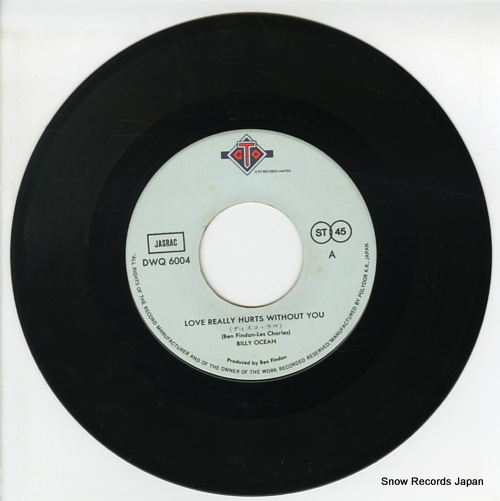 OCEAN, BILLY love really hurts without you DWQ6004 - disc