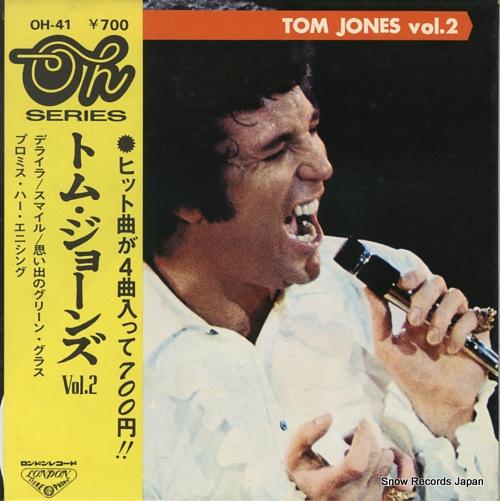 JONES, TOM oh tom jones vol.2 OH-41 - front cover