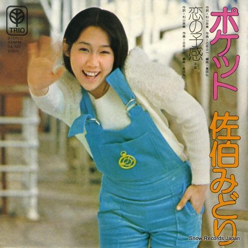 SAEKI, MIDORI pocket 3A-101 - front cover