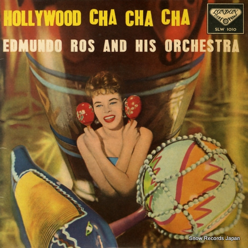 ROS, EDMUNDO hollywood cha cha cha SLW1010 - front cover