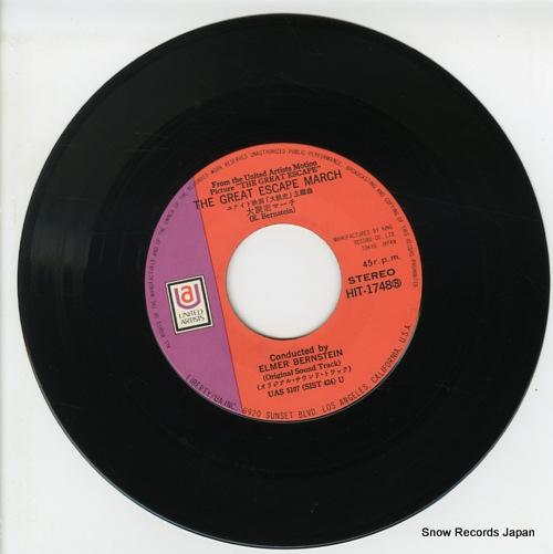 BERNSTEIN, ELMER the great escape march HIT-1748 - disc