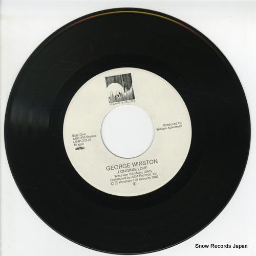 WINSTON, GEORGE longing / love AMP-210 - disc