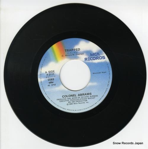 ABRAMS, COLONEL trapped P-2111 - disc