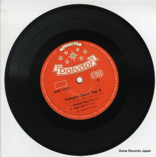 MODERN PLAYBOYS, THE trumpet blues top 4 SLKP-1022 - disc