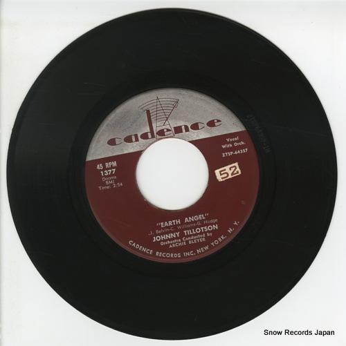 TILLOTSON, JOHNNY earth angel ZTSP-64357 - disc