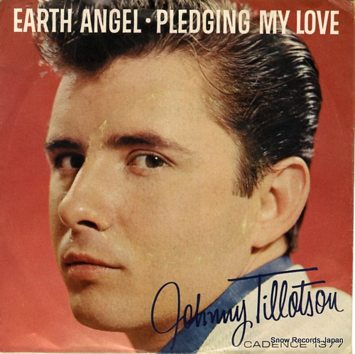 TILLOTSON, JOHNNY earth angel ZTSP-64357 - front cover