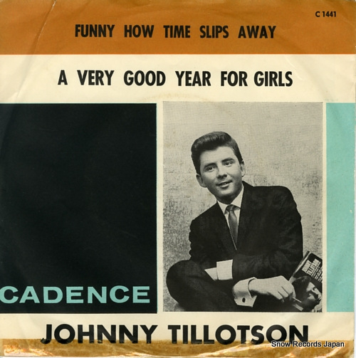 TILLOTSON, JOHNNY funny how time slips away C1441 - front cover