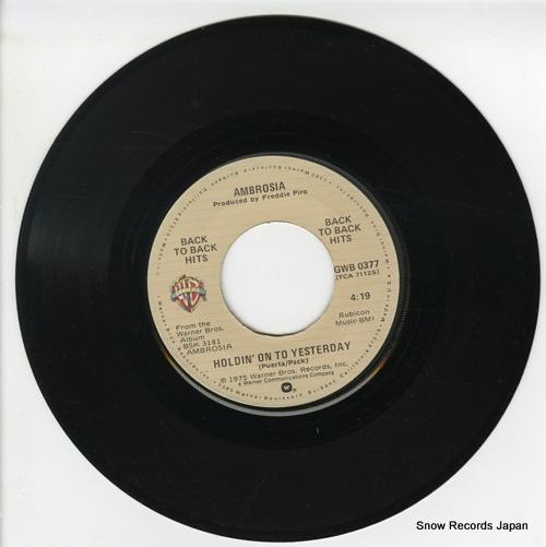 AMBROSIA holdin' on to yesterday GWB-0377 - disc