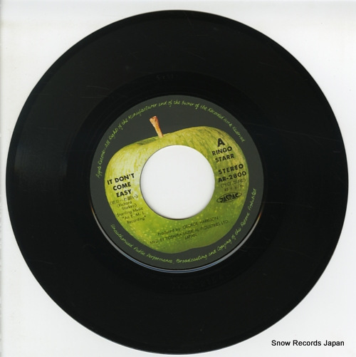 STARR, RINGO it don't come easy AR-2800 - disc