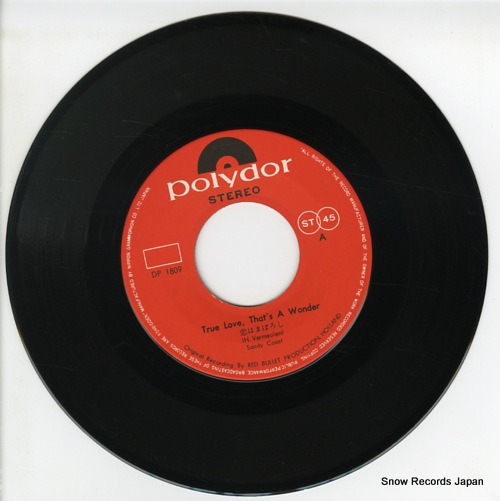 SANDY COAST true love that's a wonder DP1809 - disc