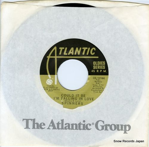 SPINNERS, THE could it be i'm falling in love OS-13144 - front cover