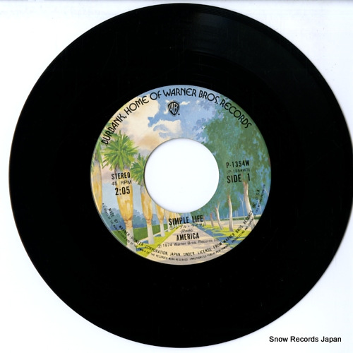 AMERICA simple life P-1354W - disc