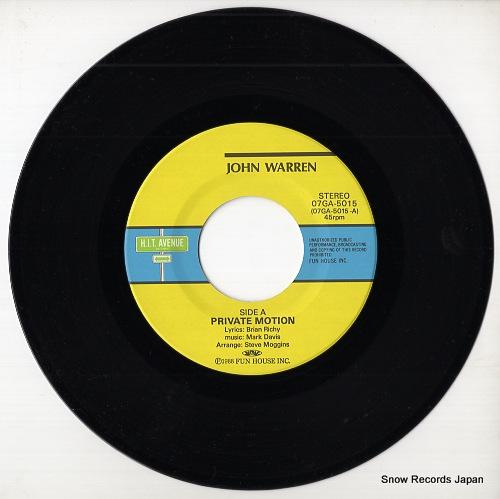 WARREN, JOHN private motion 07GA-5015 - disc