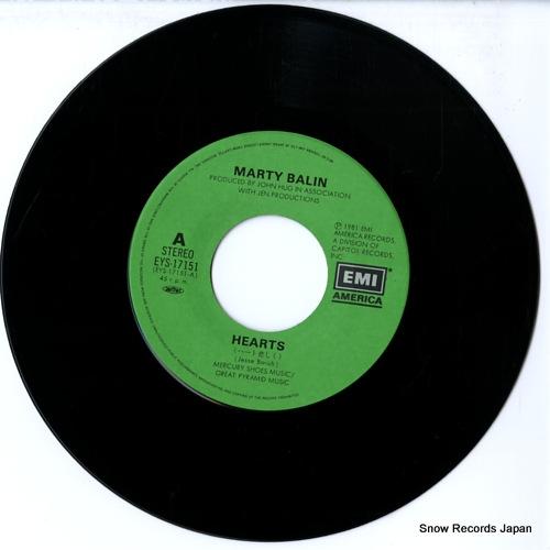 BALIN, MARTY hearts EYS-17151 - disc