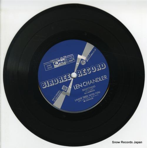 CHANDLER, LEN something PLS8004 - disc