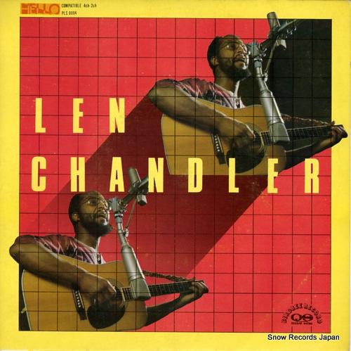CHANDLER, LEN something PLS8004 - front cover