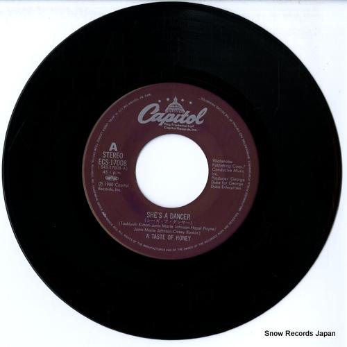 TASTE OF HONEY, A she's a dancer ECS-17008 - disc