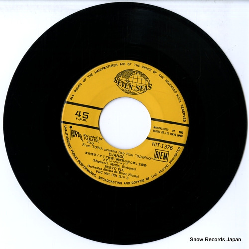 NICOLAI, BRUNO django HIT-1376 - disc