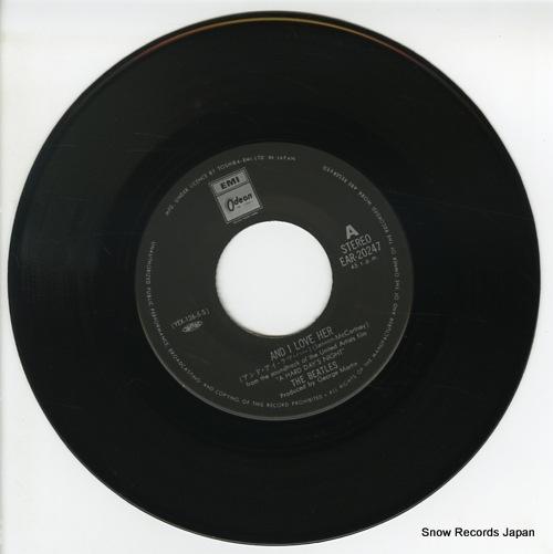 ザ・ビートルズ アンド・アイ・ラヴ・ハー EAR-20247
