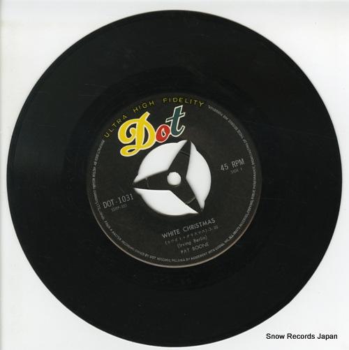 BOONE, PAT white christmas DOT-1031 - disc