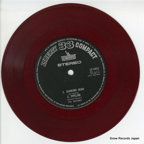 VENTURES, THE diamond head LP-4051 - disc