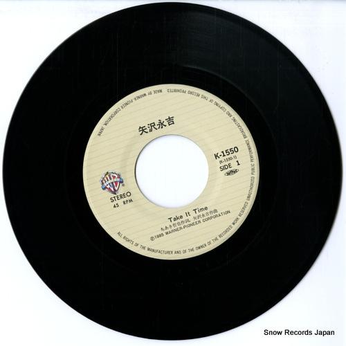 YAZAWA, EIKICHI take it time K-1550 - disc