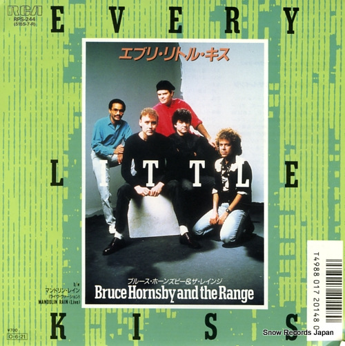 HORNSBY, BRUCE, AND THE RANGE every little kiss(remix) RPS-244 - front cover