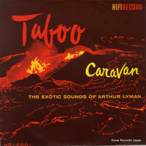 LYMAN, ARTHUR taboo HS-2001 - front cover